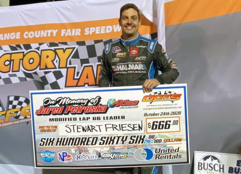 DRIVERS EARNED MORE THAN $155,000 DURING THE 59TH ANNUAL EASTERN STATES WEEKEND AT ORANGE COUNTY FAIR SPEEDWAY