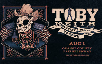 Toby Keith at Orange County Fair Speedway